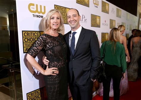 tony hale wife tony hale pictures arrivals at the critics choice