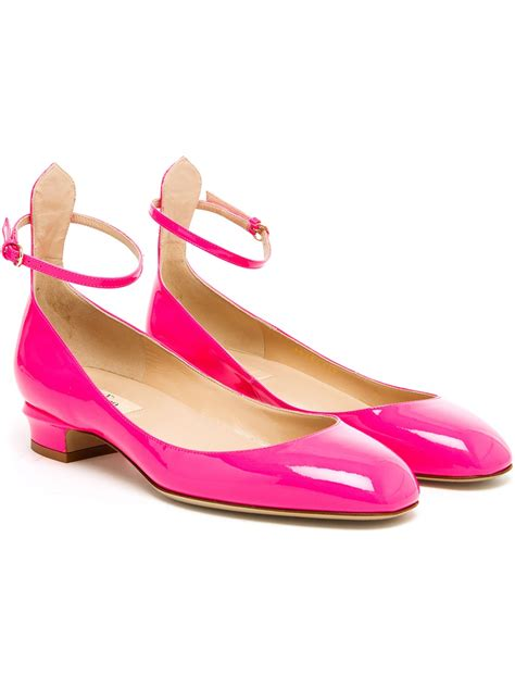Kaos Lanvin Pink Valentino Patent Leather Pumps In Pink Lyst