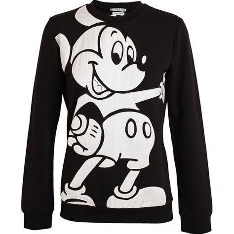 Sweater Hoodie Mickey Fashion Wanita Murah iceberg worldwide mickey mouse sweatshirt featuring polyvore fashion clothing tops hoodies