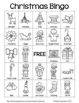 printable christmas bingo cards black and white christmas bingo 36 unique cards in color and black and