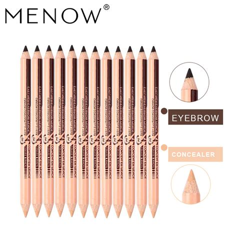 Menow Foundation Concealer No 2 aliexpress buy menow 12pcs concealer eyebrow pencil