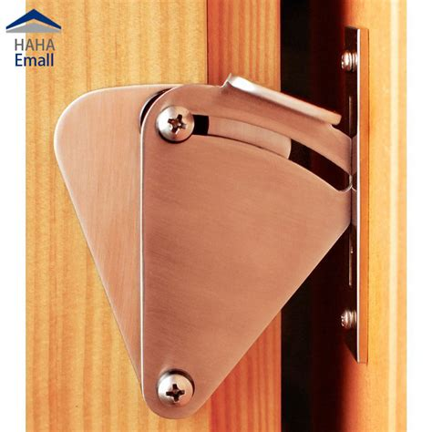 Sliding Wood Barn Doors Lock Kit Stainless Steel Mini Sliding Barn Door Locking Hardware