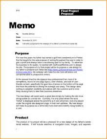 professional memo template 6 business memo exle cook resume