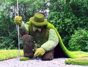information hub of besties amazing plant sculpture