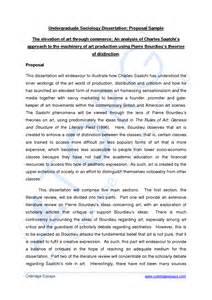 Sample Of Thesis Proposal Pdf Undergraduate Dissertation Proposal