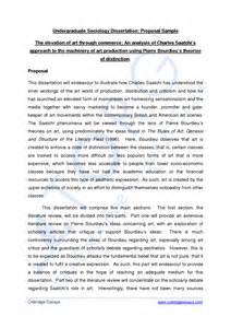 Doctoral Dissertation Proposal Sample Undergraduate Dissertation Proposal