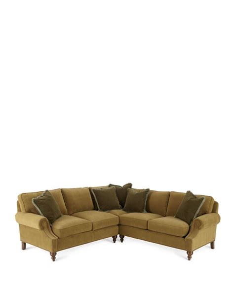 alix left corner sofa with right facing loveseat sectional