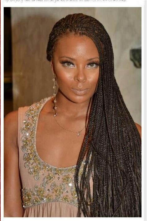 straight long individual braids hairstyles eva marcille micro braids long braids box braids