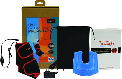 Ankle Pro Wrap Pw170 thermedic tm 140lb 3 in 1 pro wrap lower back cold brace support health