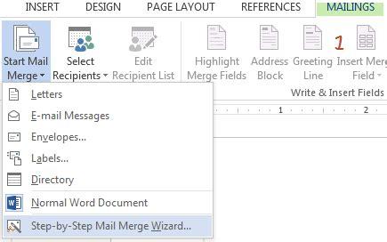 cara membuat mail merge ms word 2013 info cheats tips tutorials september 2014