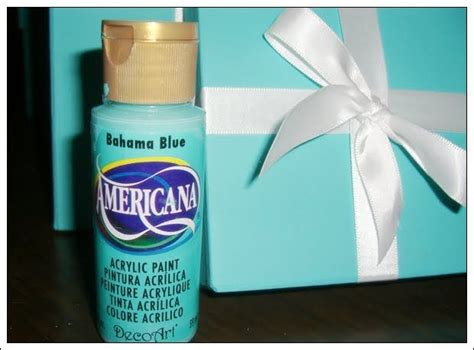 americana bahama blue acrylic paint for blue breakfast at s diy table