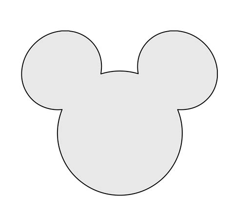mickey template 5 quot h string mickey mouse pattern template string