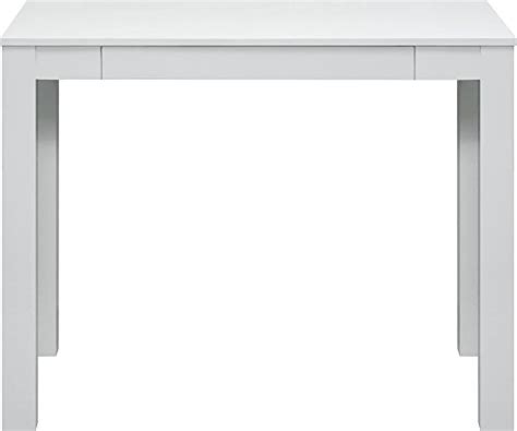 Parsons Desk With Drawer White Finish Parsons Desk With Drawers White