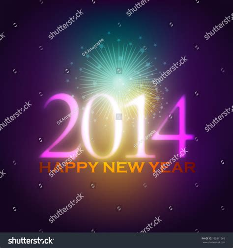 beautiful new year background 2014 beautiful new year background stock vector