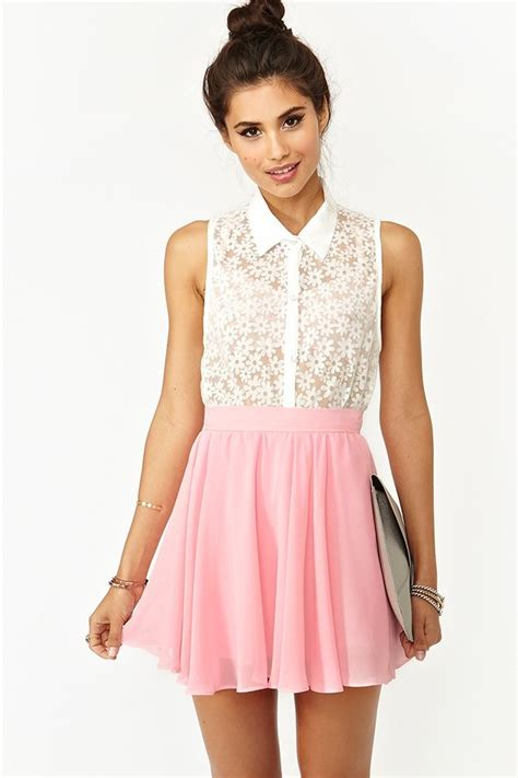 Top 8 Must Dresses by Skater Skirt In Pink Gal I Really Like The
