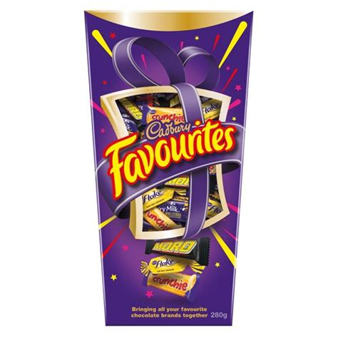 Cadbury Favourites buy cadbury favourites chocolates boxed 280g at