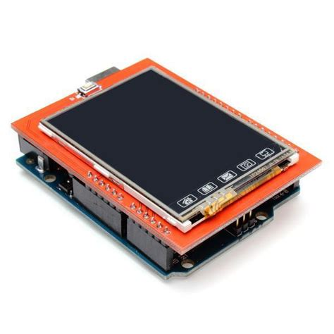 Lcd Touch Screen Ftf 24 Inch Arduino Compatible 2 4 inch 2 4 inch tft lcd shield touch board