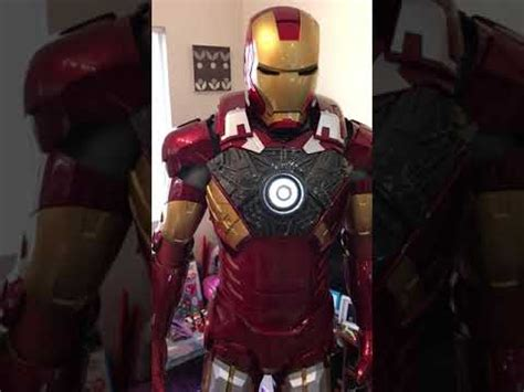 ironman armor wearable mk costume cosplay iron man