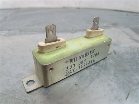 milwaukee resistors milwaukee 3581266 9 86 resistor 300 ohm ebay