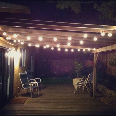 edison patio string lights the ideas about modern patio