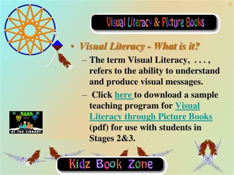 teaching visualization with picture books ppt picture books powerpoint presentation id 3661580