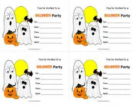 halloween party invitations free printable