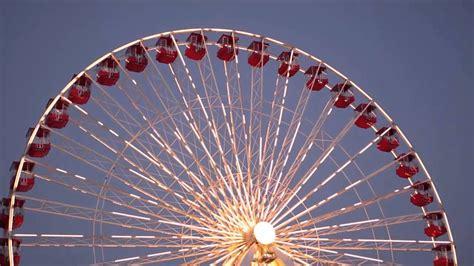 final spin  navy piers ferris wheel youtube