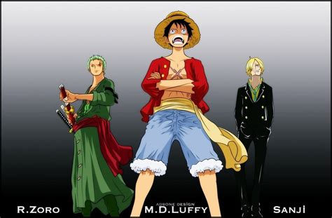 Onepiece Luffy Sanji Zoro one r zoro m d luffy sanji by adonis90 on deviantart