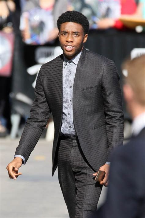 chadwick boseman chadwick boseman promotes captain america civil war on