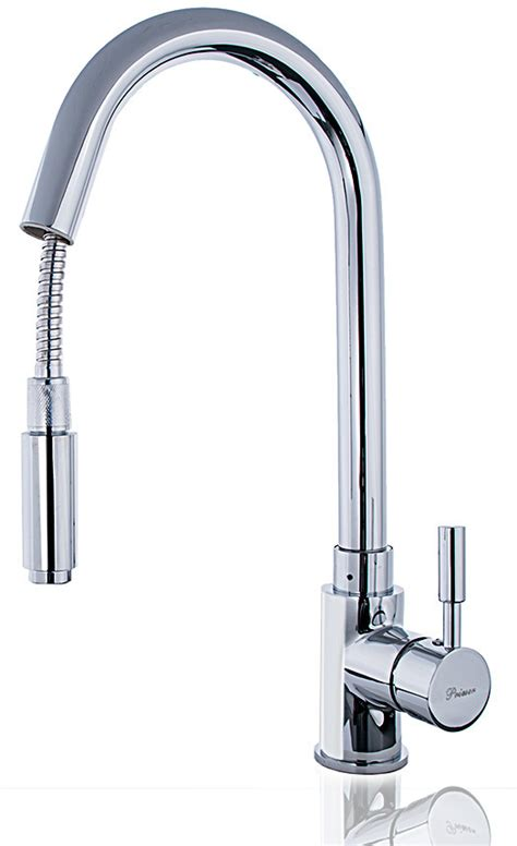 Kitchen Faucet Low Pressure Water Tap Low Pressure Mixer Tap Sink Tap With Shower W83n Ebay