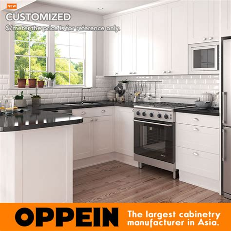 wood shaker cabinets kitchen designs home improvement oppein american style white wood shaker cabinets small u