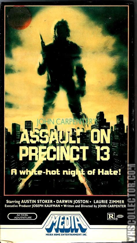 John Carpenter S Assault On Precinct 13 Vhs Cover Art - assault on precinct 13 vhscollector com your analog