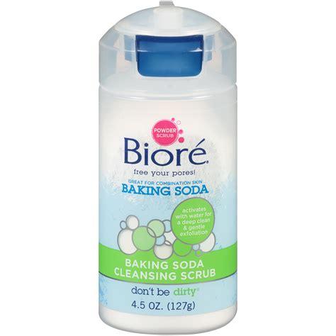 Sprite Detox by Biore Baking Soda Cleansing Scrub 4 5 Oz Bottle Shop