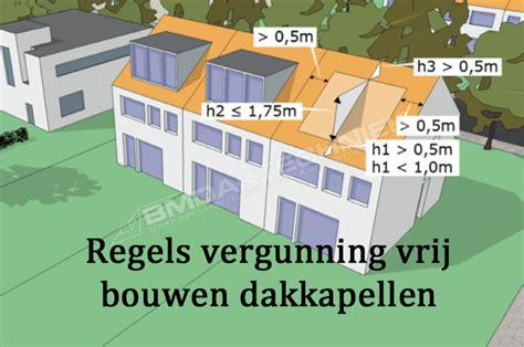 schuur uitbouwen zonder vergunning nieuwe regels vergunning vrij bouwen dakkapellen bm
