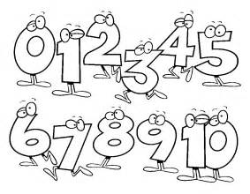 numbers coloring pages numbers coloring pages for preschool free coloring