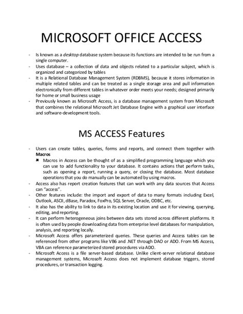 Seri Kupas Tuntas Microsoft Access 2010 Cd archives