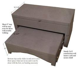 Bed Steps For Elderly Bed Steps Ebay