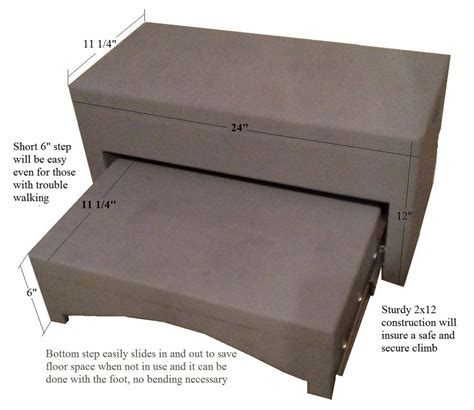 bed steps for adults bed steps ebay