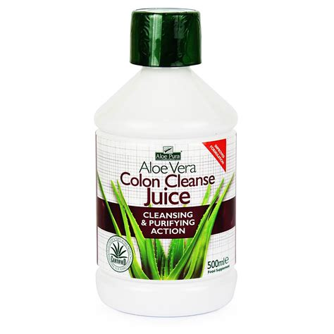 Aloe Vera Detox Drink by Aloe Pura Colon Cleanse Aloe Vera Juice Optima 500ml