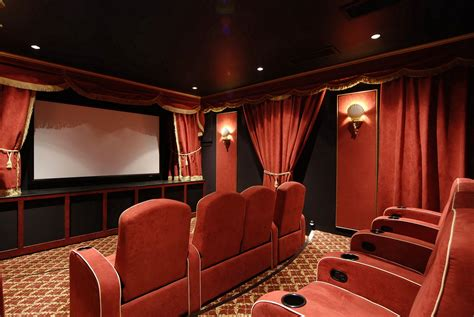 Home Theater Room Design Photo Home Theatre On Home Theaters Theater And