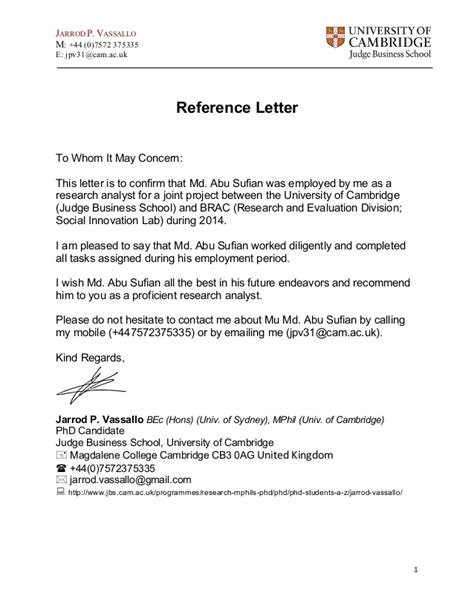 Mba Is For Whom by Reference Letter Outline Md Abu Sufian