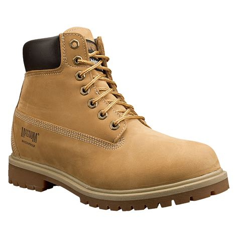 magnum leather boots magnum work foreman 6 quot insulated waterproof leather boots 7817 ebay