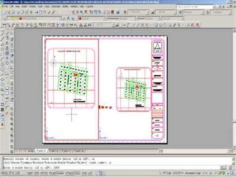 criando layout e viewport como escalar en autocad mediante el layout con viewports