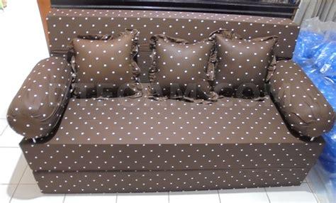 Sofa Coklat sofa bed minimalis inoac murah dottie coklat dtfoam