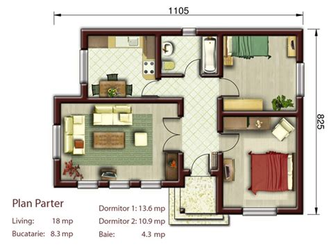 thehousedesigners small house plans proiecte de case la tara 3 locuinte mici si frumoase in care vei trai viata la care ai visat