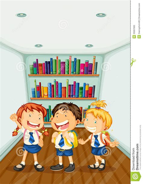 imagenes de ludotecas escolares tres ni 241 os que llevan sus uniformes escolares foto de