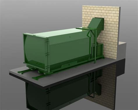 free standing trash compactor self contained compactors proware systems