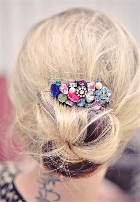 How To Make Handmade Accessories - 25 diy hair accessories to make now