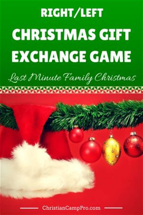 night before christmas and christmas gift exchange games