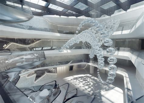 zaha hadid interior a luxurious spaceship take a look inside the me dubai hotel by zaha hadid